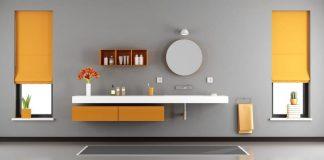 bagno senza piastrelle: pittura per bagno senza piastrellle