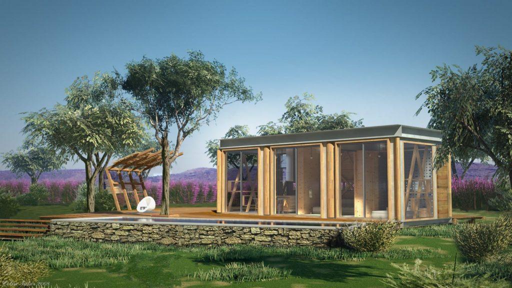 Quanto costa una casa in legno come costruire casette in - Conviene costruire casa prefabbricata ...