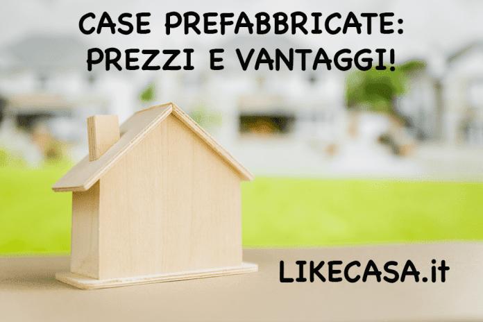 case prefabbricate prezzi