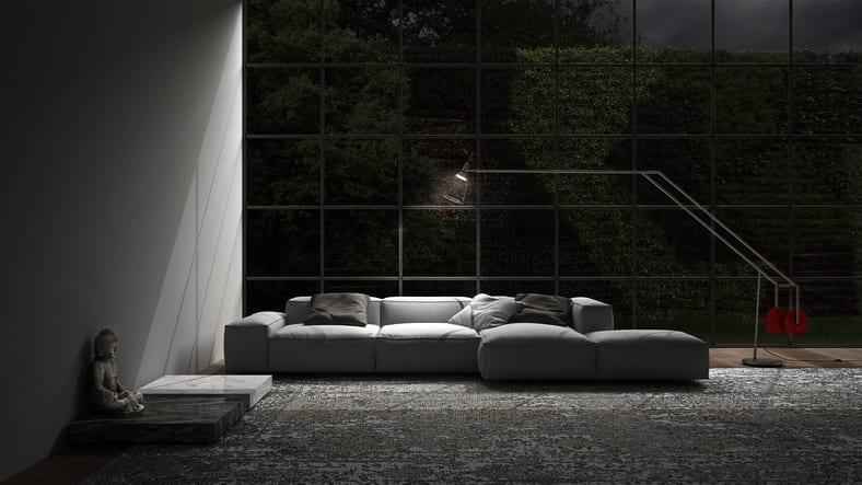 colori per pareti e colore pareti soggiorno moderno
