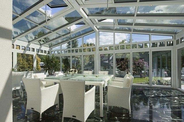 coperture in vetro per terrazzo