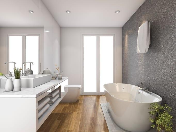 Idee bagno come rinnovare il tuo bagno e renderlo perfetto - Pittura per piastrelle bagno ...