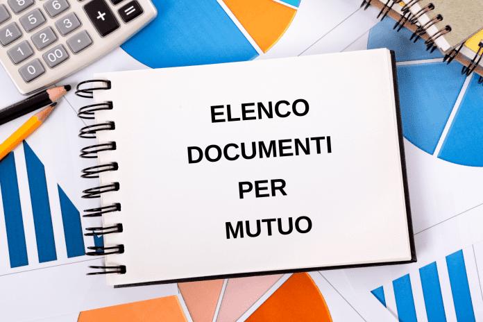 documenti per mutuo: richiesta documenti