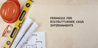 permessi per ristrutturare casa internamente: lavori edili liberi