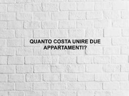 unire due appartamenti costi