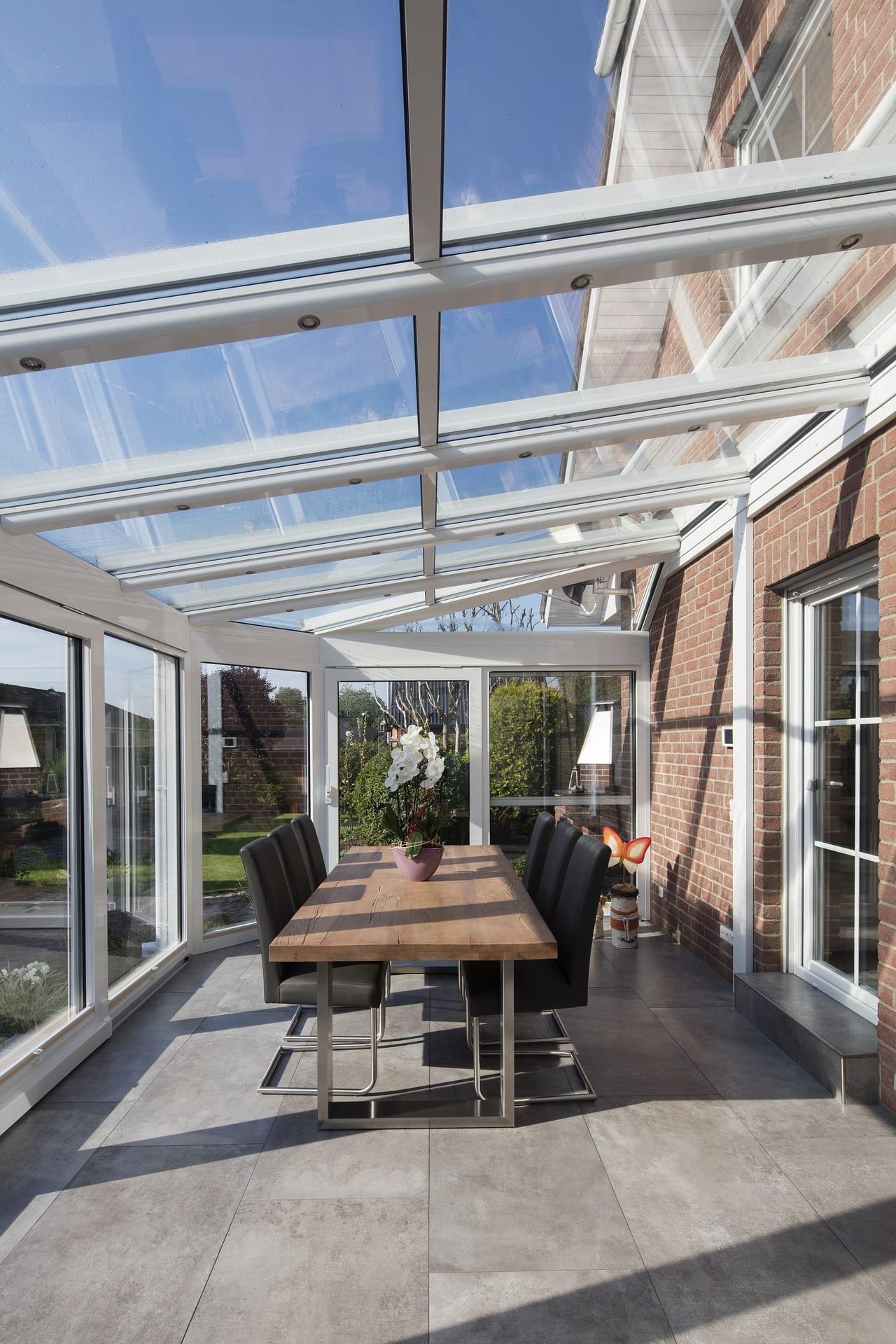 Coprire Terrazzo Con Veranda come chiudere un terrazzo: vetrate per terrazzi con e senza