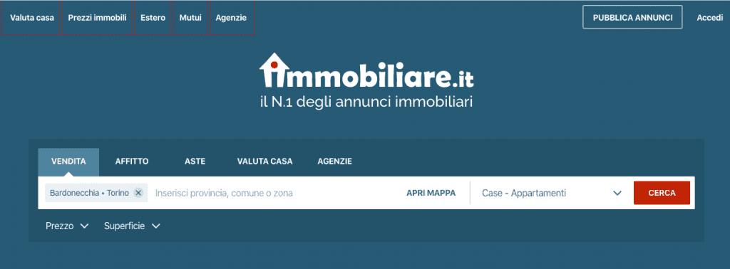 immobiliare.it sito immobiliare