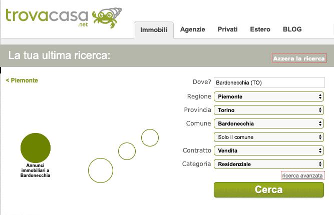 trovacasa.net siti per vendere casa gratis
