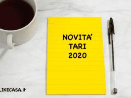 tari 2020 novità