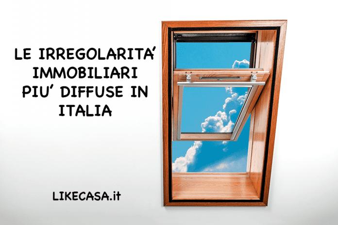 irregolarità immobiliari in italia