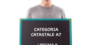 categoria catastale A7 definizione