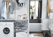 Come arredare una lavanderia di casa: mobili per lavanderia e prezzi