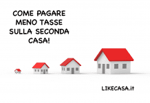 Come Pagare Meno Tasse sulla Seconda Casa: si paga la tasi sulla seconda casa