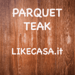 Parquet Teak prezzi