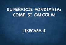 SUPERFICIE FONDIARIA COME SI CALCOLA