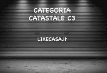 categoria catastale c3 requisiti