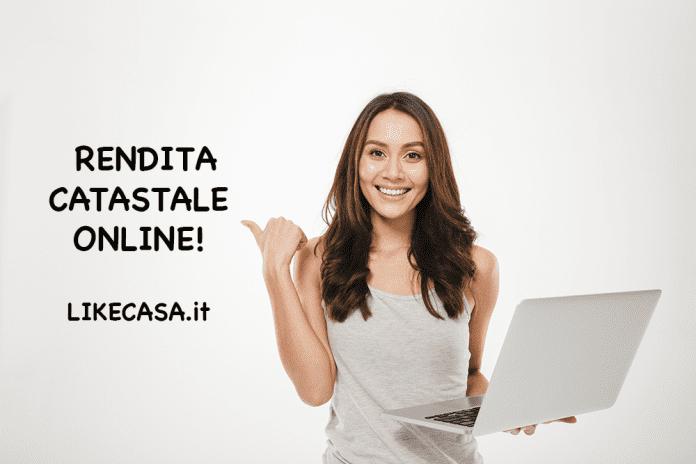 consultazione rendita catastale online