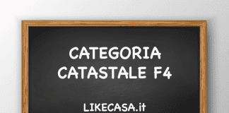 f4 categoria catastale