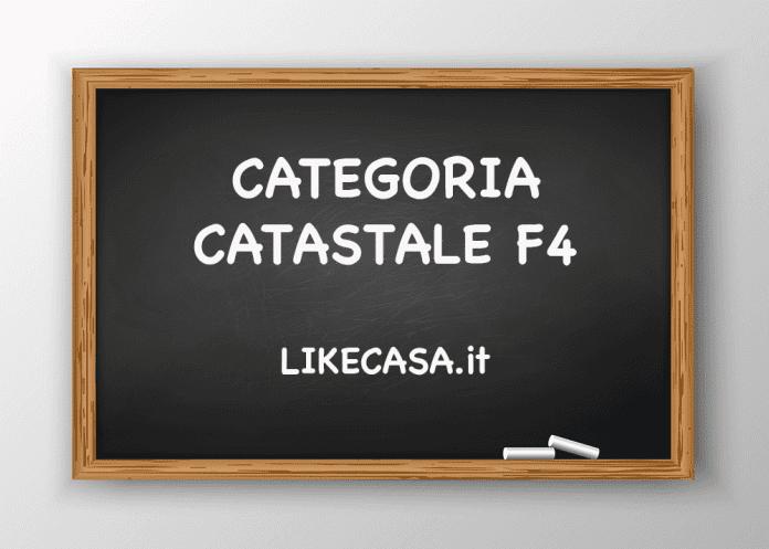 f4 categoria catastale