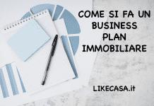 business plan immobiliare modello