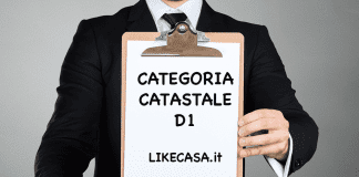 d1 categoria catastale
