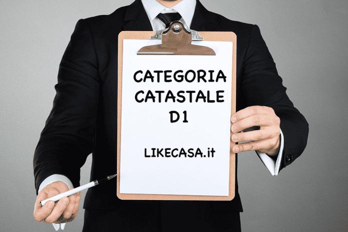 d1 categoria catastale