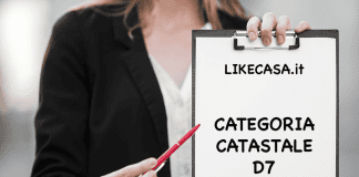 d7 categoria catastale