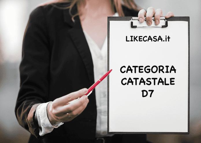 d7 categoria catastale