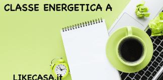 classe A energetica