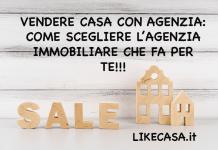 vendere casa tramite agenzia immobiliare