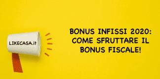 bonus infissi 2020 news
