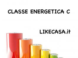 classificazione energetica c