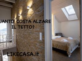 quanto costa alzare il tetto di una casa