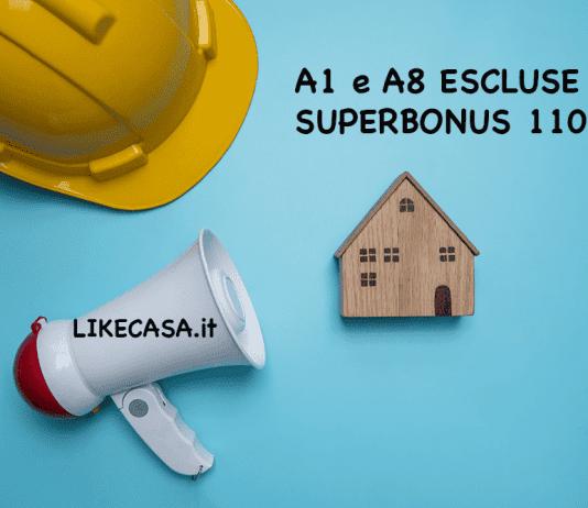 a1 e a8 il no del superbonus