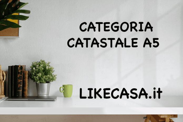 a5 categoria catastale